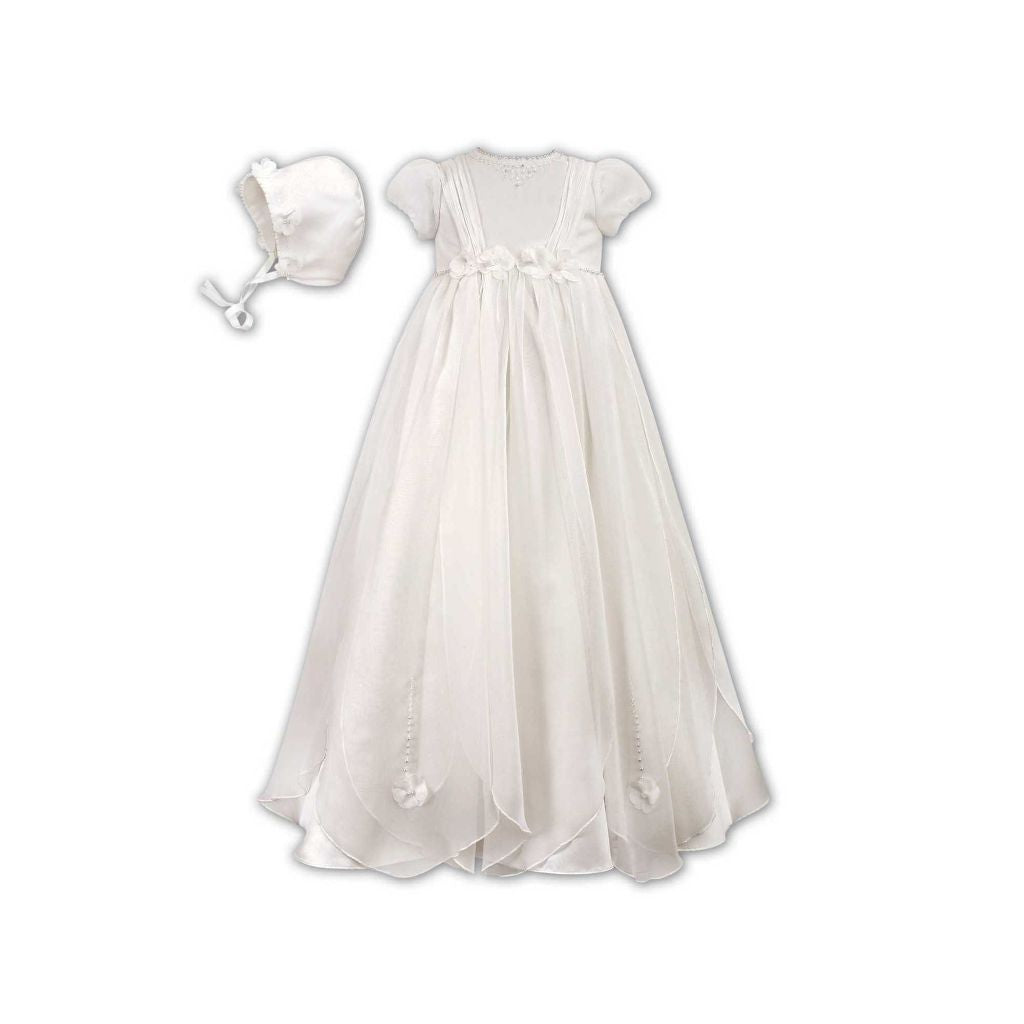 SARAH LOUISE CHRISTENING ROBE & BONNET 1050