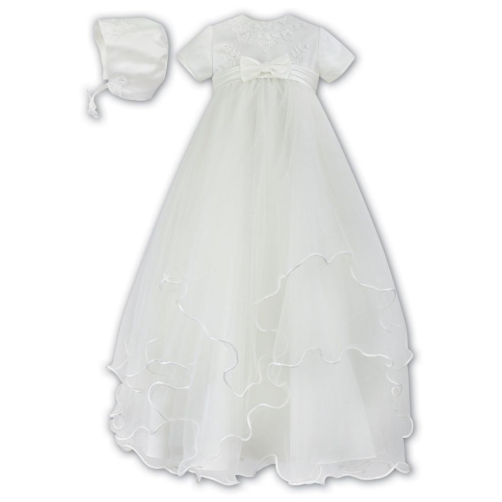 SARAH LOUISE CHRISTENING ROBE & BONNET 1096 I