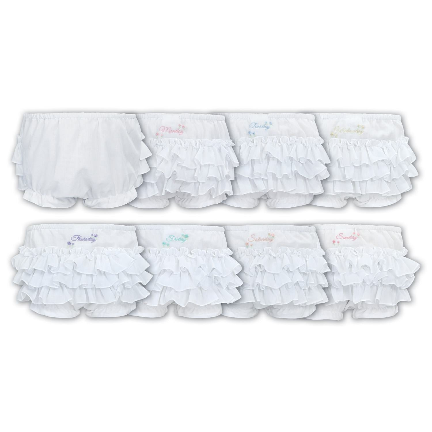 SARAH LOUISE FRILLY PANTIES GIFT SET 3770P