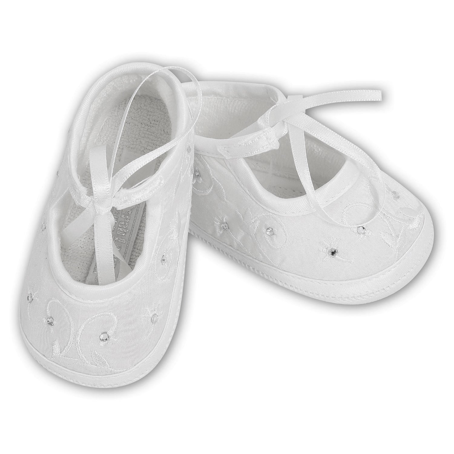 SARAH LOUISE CHRISTENING SHOES 4410 W
