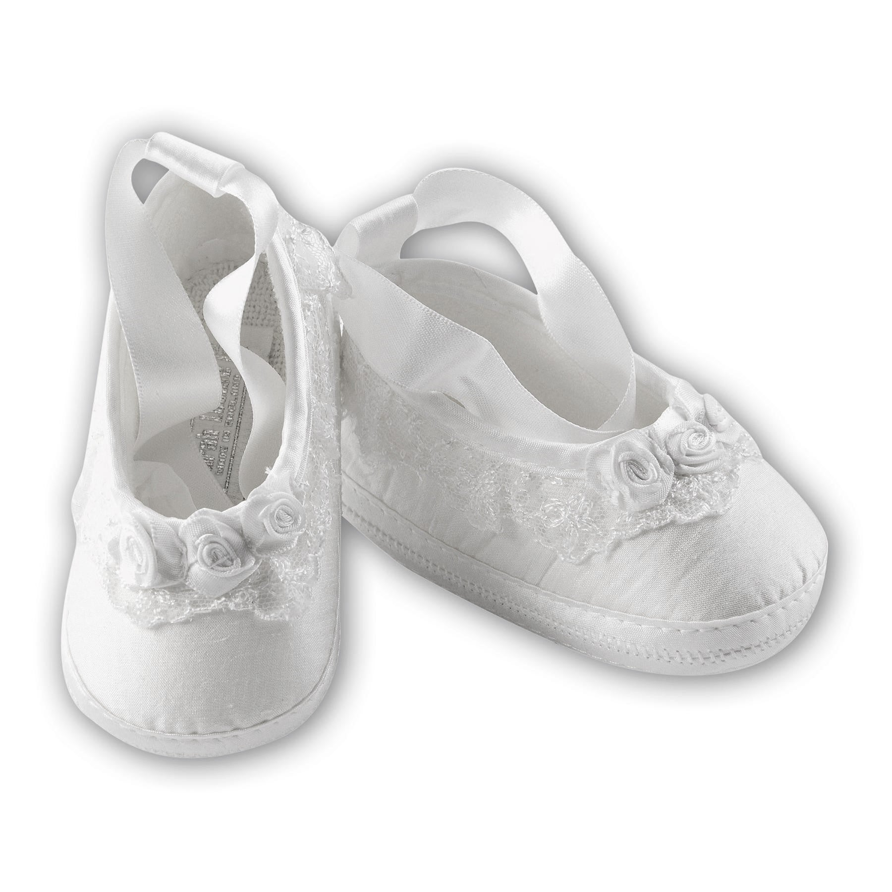 SARAH LOUISE CHRISTENING SHOES 4434W