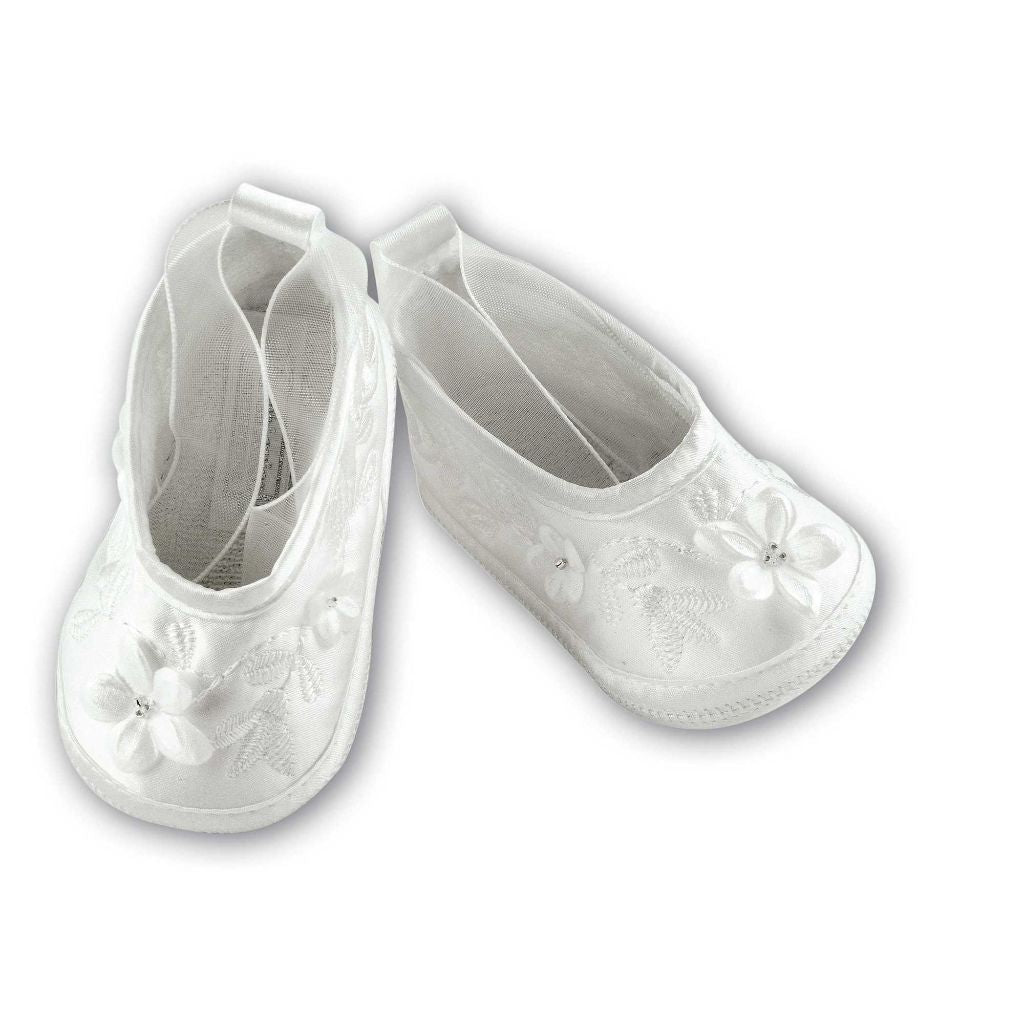 SARAH LOUISE CHRISTENING SHOES 489 W