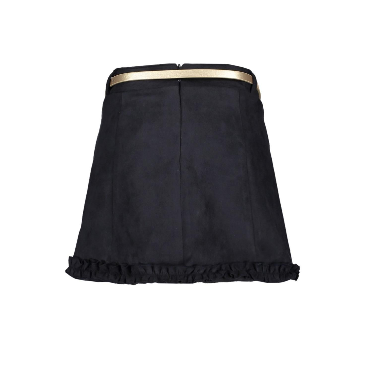 LE CHIC A LINE SUEDE LOOK SKIRT WITH ADJUSTABLE WAIST C908 5720 190