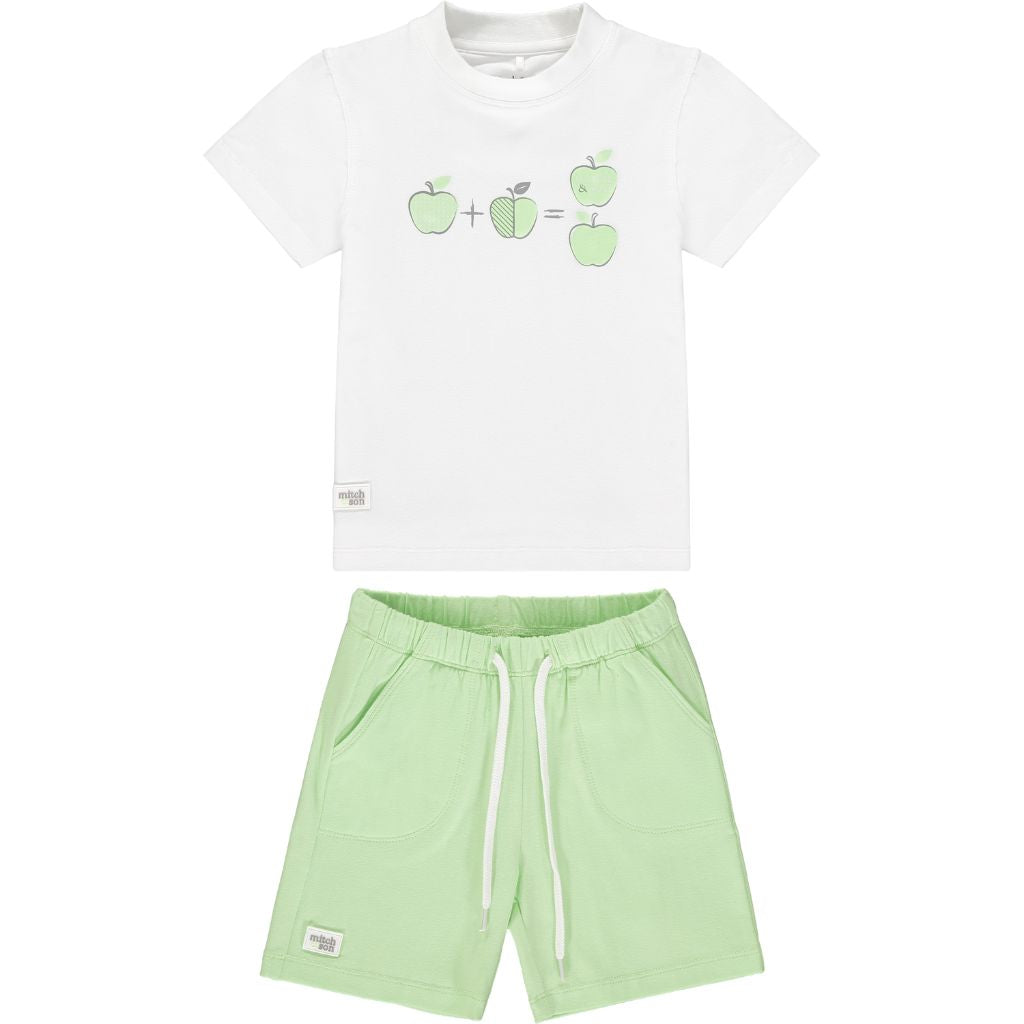 MITCH & SON GRANVILLE T SHIRT & SHORTS MS21312