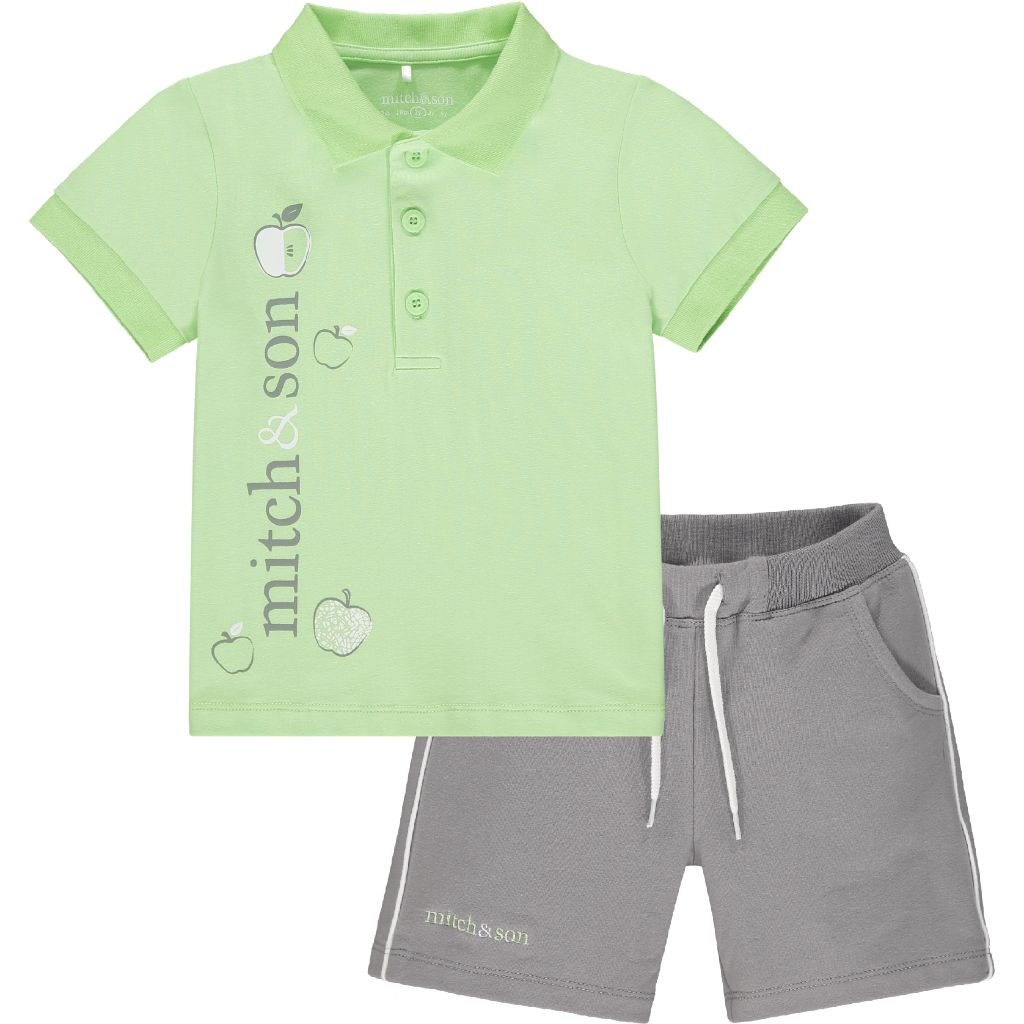 MITCH & SON GEORGE POLO SHIRT & SHORTS MS21316