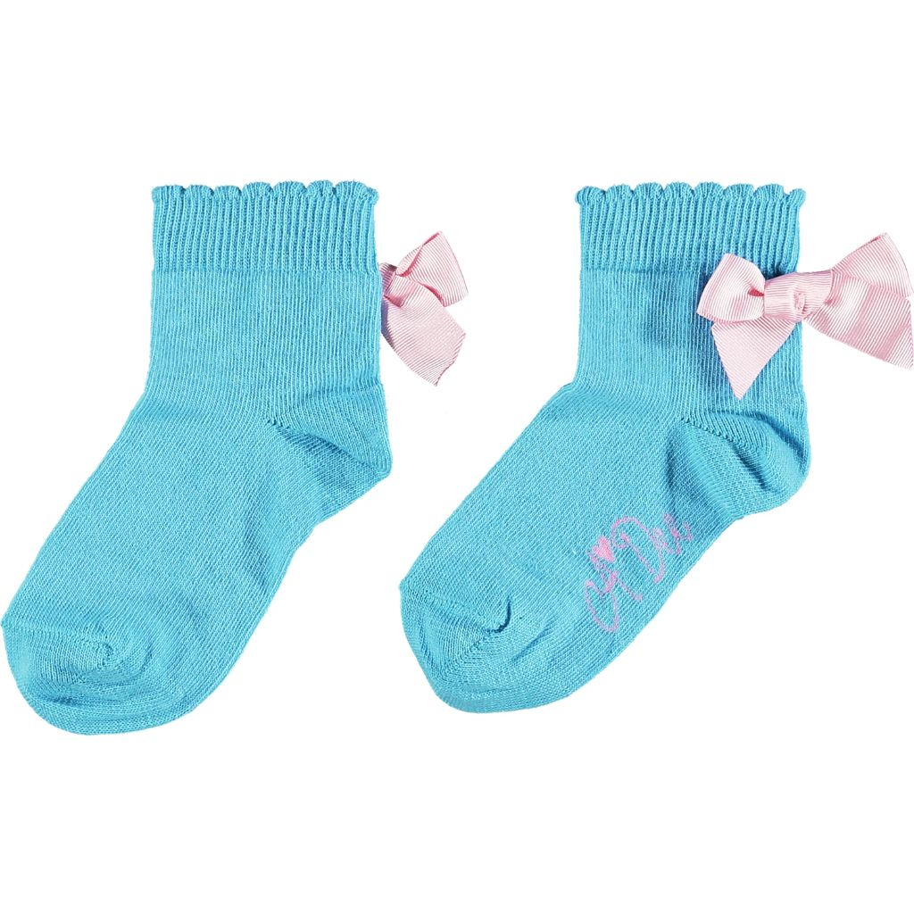 A DEE RAINBOWS & UNICORNS NIC ANKLE SOCKS S213915