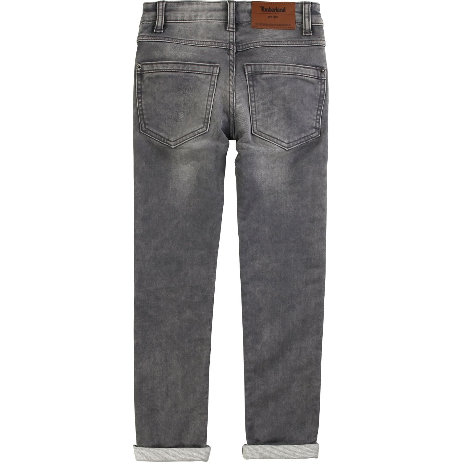 TIMBERLAND JEANS WITH ADJUSTABLE WAIST T24A83