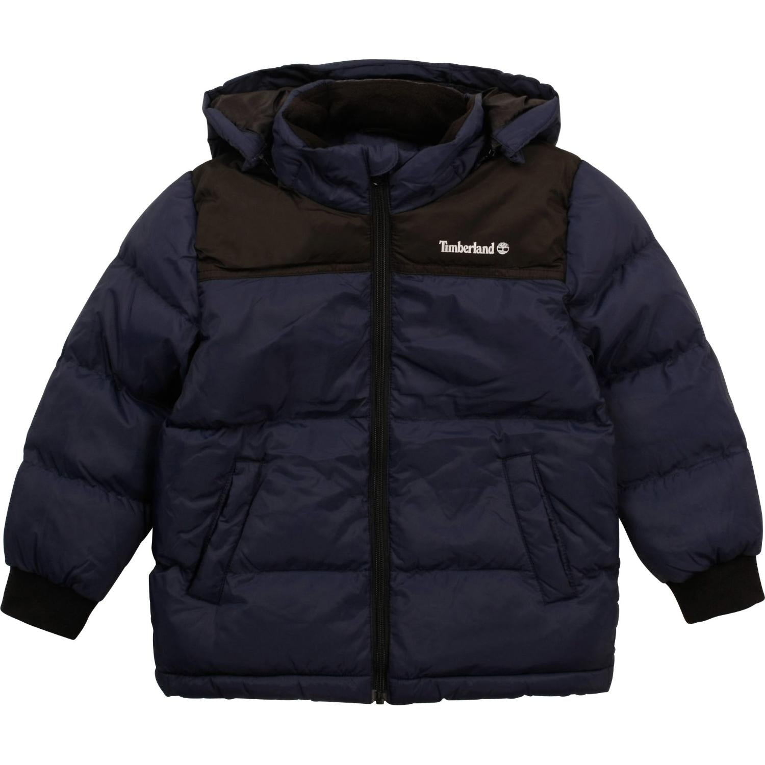 TIMBERLAND PUFFER JACKET WITH DETACHABLE HOOD T26515 85T