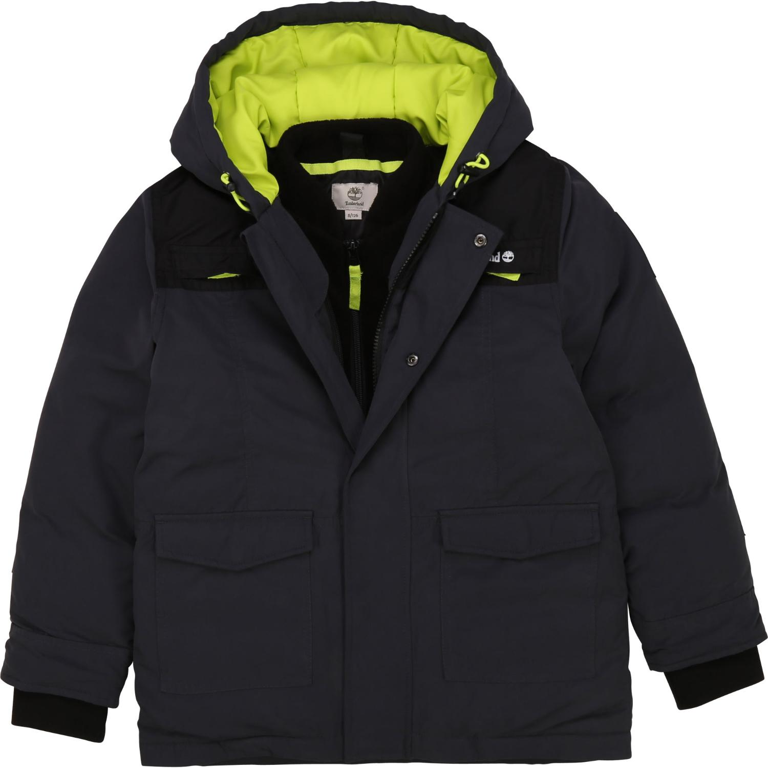 TIMBERLAND 2 IN 1 PARKA & FLEECE GILET T26526 Z40