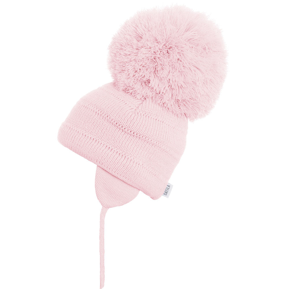 SATILA HAT WITH HUGE POM POM TUVA 149