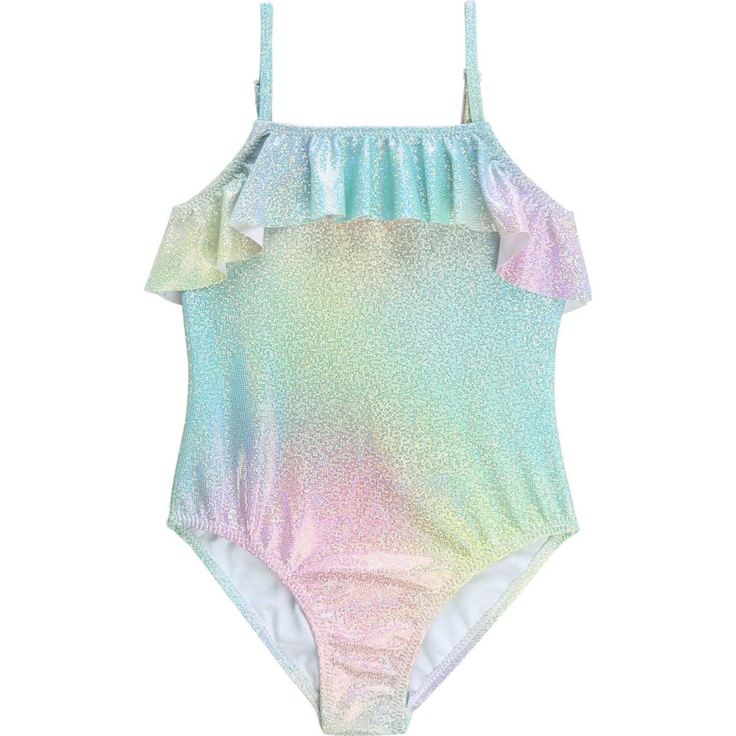 BILLIEBLUSH RUFFLE SWIMMING COSTUME U10346 Z40