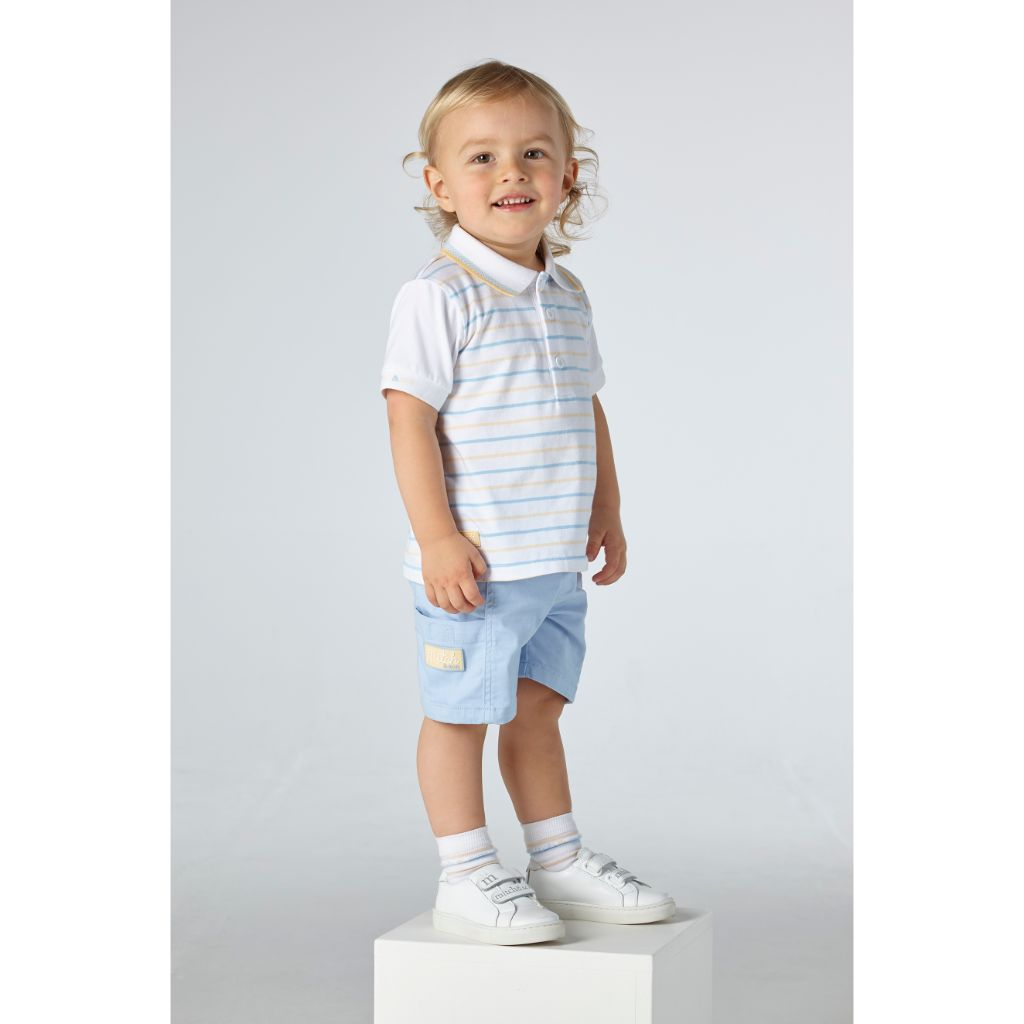 MITCH & SON BLYTHSWOOD POLO & SHORTS SET MS21125