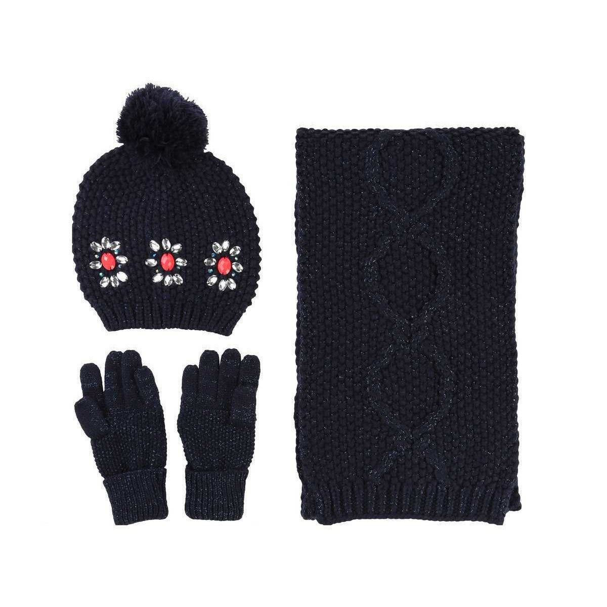 BILLIEBLUSH HAT SCARF & GLOVES U08033