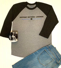 Load image into Gallery viewer, The Legends Premium Baseball Raglan
