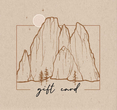 art and illustration gift card