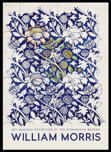 William Morris Wey 1882-1883 Vintage Poster Reproduction Art Print #W05 5x7 inches/13x18cm Sugar & Canvas