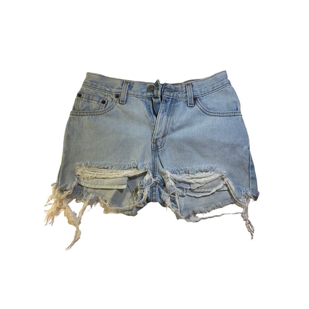 Red Tab Levi's Short Shorts