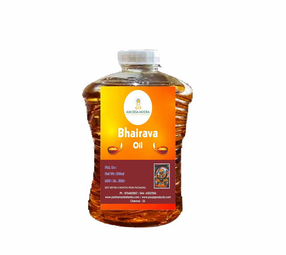 Bhairava  Oil (500ml) - PoojaProducts.com