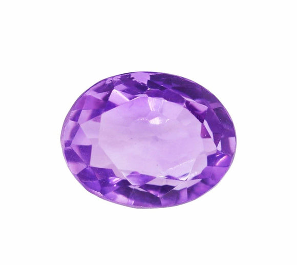 Amethyst Oval Shape (8Carat) - PoojaProducts.com