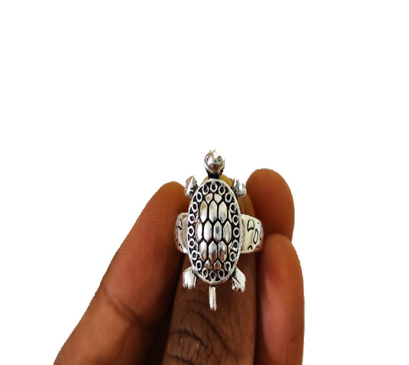 Kurma / Tortoise Adjustable Ring - PoojaProducts.com