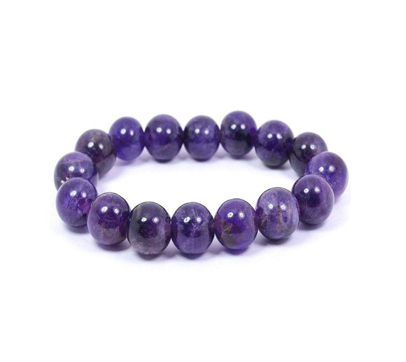 Amethyst Bracelet 8MM - PoojaProducts.com