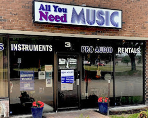 All You Need Music, Canadian Music Store, Brockville Ontario