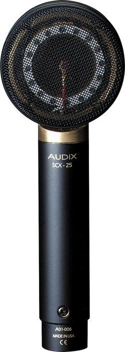 Audix SCX-25A brass condenser microphone-All You Need Music, Canadian Music Store