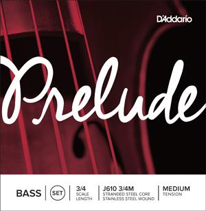 D'Addario Prelude Upright Bass strings-All You Need Music, Canadian Music Store