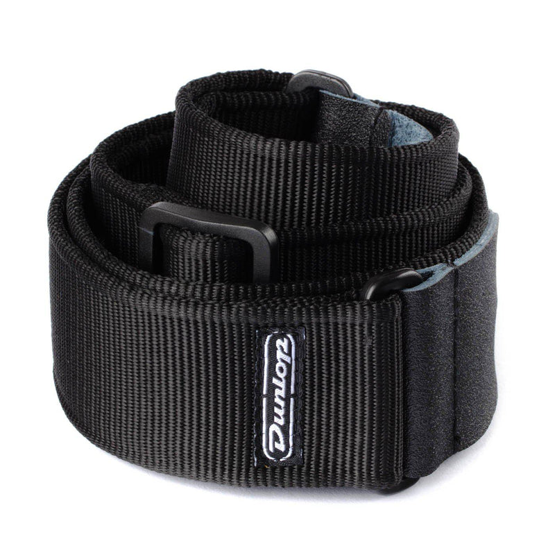 Dunlop's Solid strap, in black-All You Need Music, Canadian Music Store