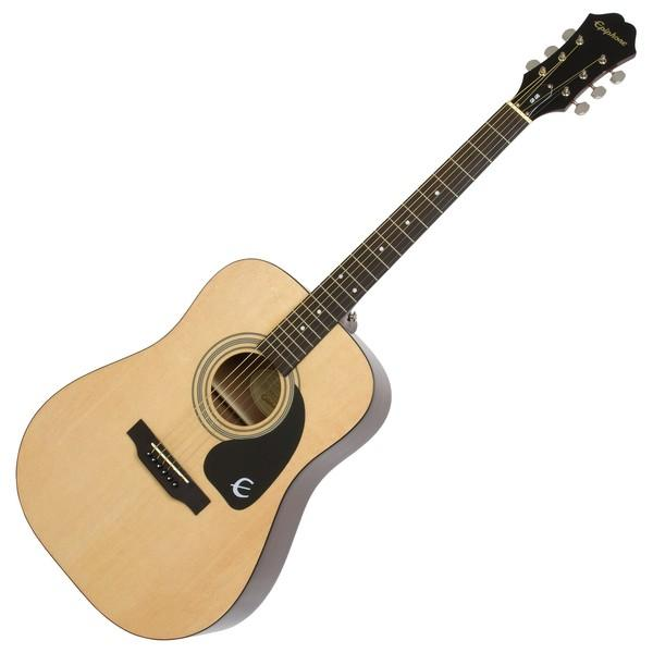 Epiphone Songmaker DR-100 Acoustic Guitar, Natural-All You Need Music, Canadian Music Store