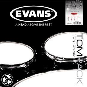 Evans G1 Coated Standard Tom Pack-All You Need Music, Canadian Music Store