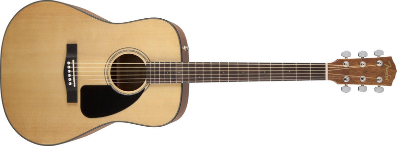 Fender CD-60 V3 Dreadnought Acoustic Guitar with Case, Natural-All You Need Music, Canadian Music Store