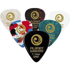 Planet Waves Standard Celluloid Picks HEAVY - 25 Pack-All You Need Music, Canadian Music Store
