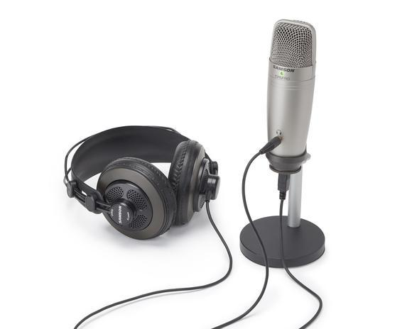 Samson C01U Pro Podcasting Pack-All You Need Music, Canadian Music Store