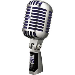Shure Super 55 Deluxe Vocal Microphone-All You Need Music, Canadian Music Store