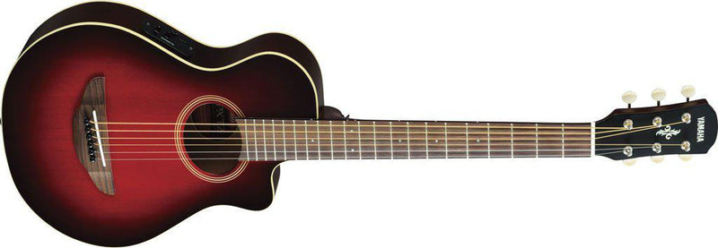 Yamaha APXT2 3/4 Size Acoustic Electric Guitar, Dark Red Burst-All You Need Music, Canadian Music Store
