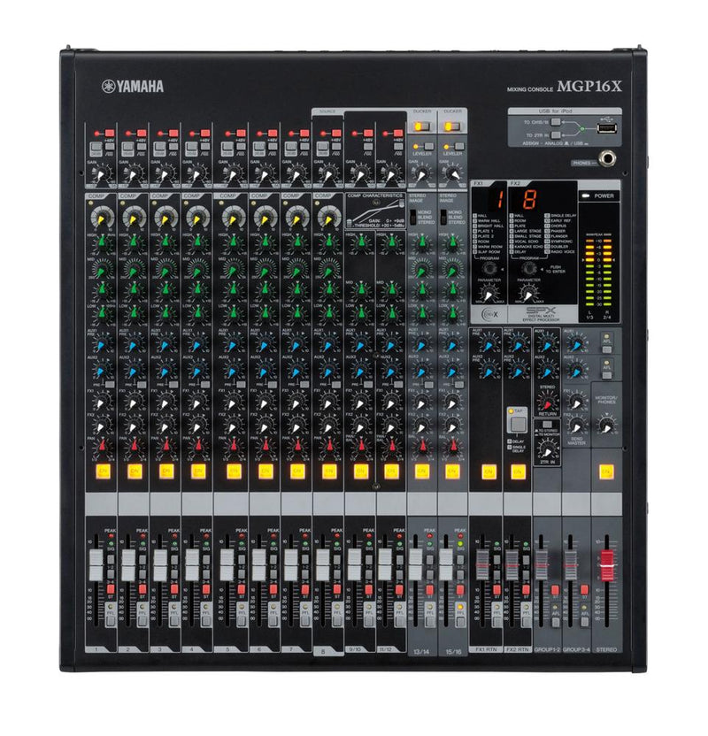 Yamaha MPG16X 16-Channel Premium Mixing Console-All You Need Music, Canadian Music Store