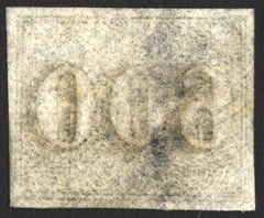 Brazil Early Numerals #28 600r 1850 VF Used Rare