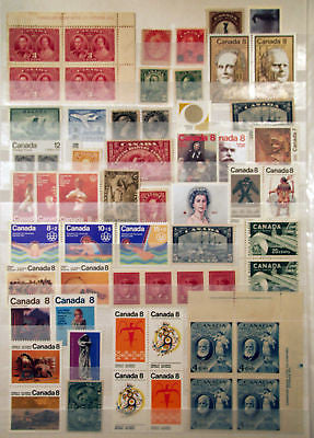 Canada 19th & 20th Century Mostly *MNH* Lot 40 items Nice
