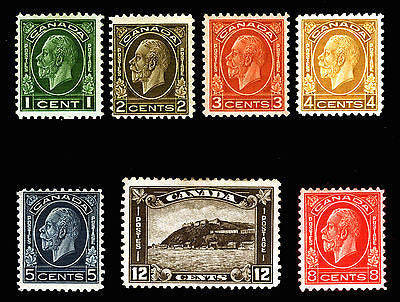 Canada #195-#201 1932 VF King George V Mint Fresh Set 7 items