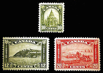 Canada #173-#175 1930-31 Odds n Ends F-VF MLH 3 items CV $120
