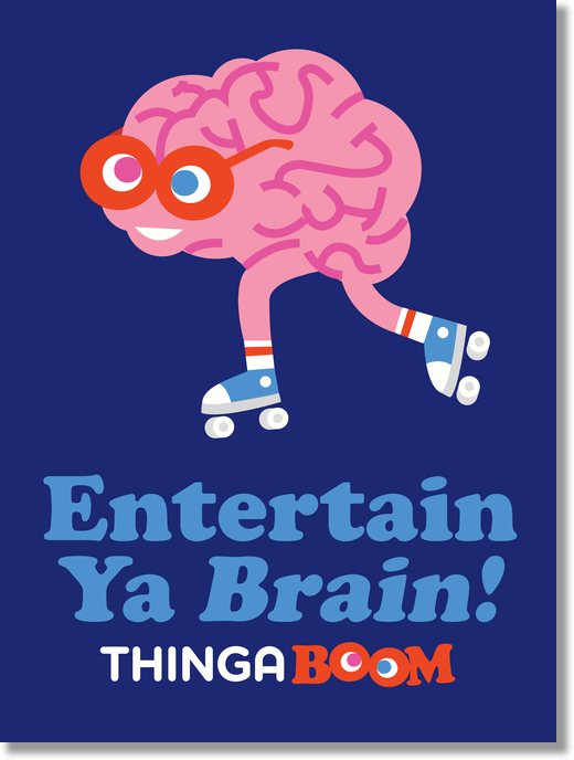 Entertain Ya Brain! Poster