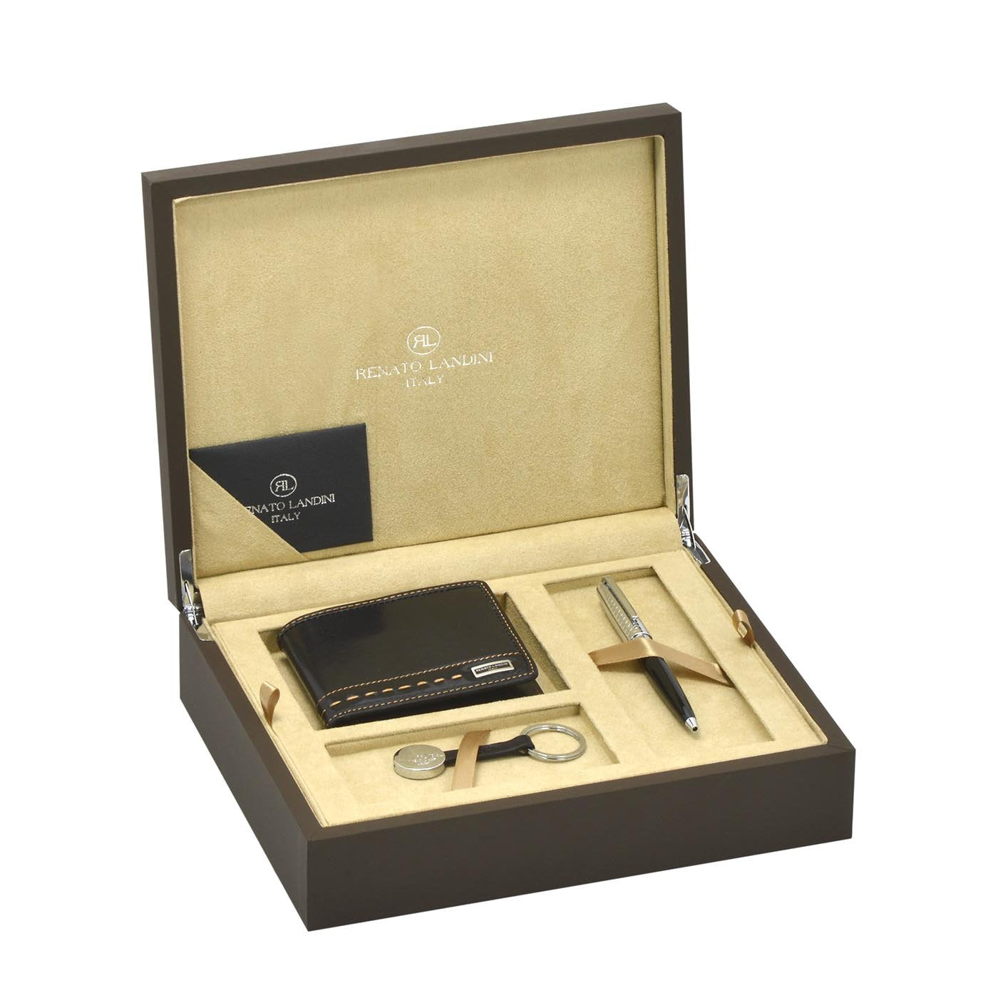 RENATO LANDINI Pen + Wallet + Key-Holder