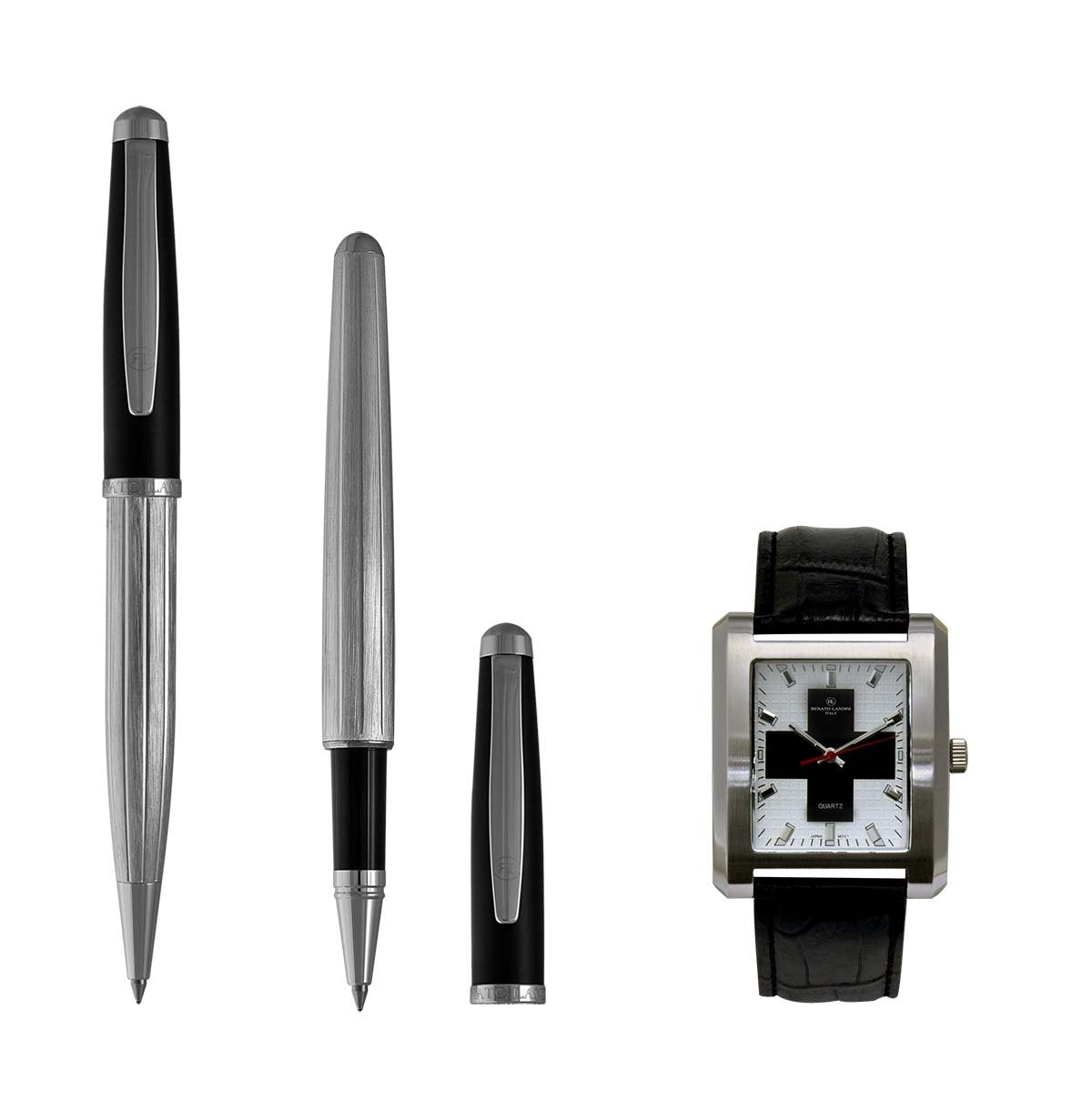 RENATO LANDINI Pen Set + Watch