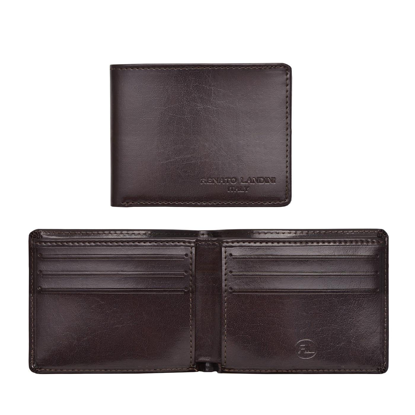 RENATO LANDINI Brown Men's Wallet/ Aristocrat