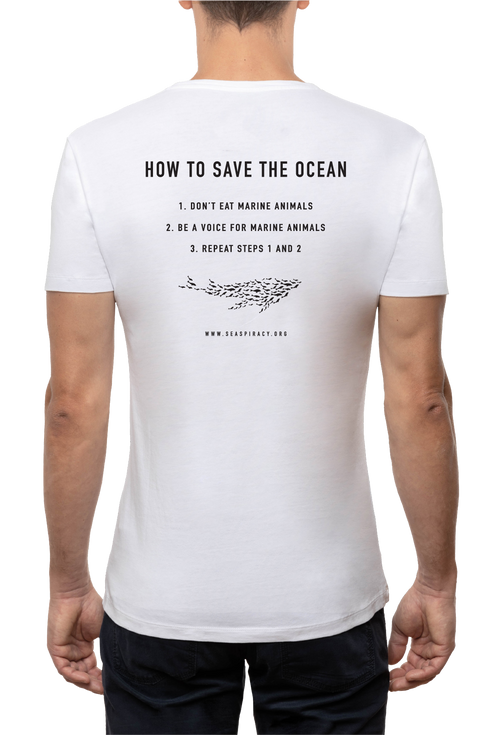 Maglietta Unisex Seaspiracy How to Save the Ocean