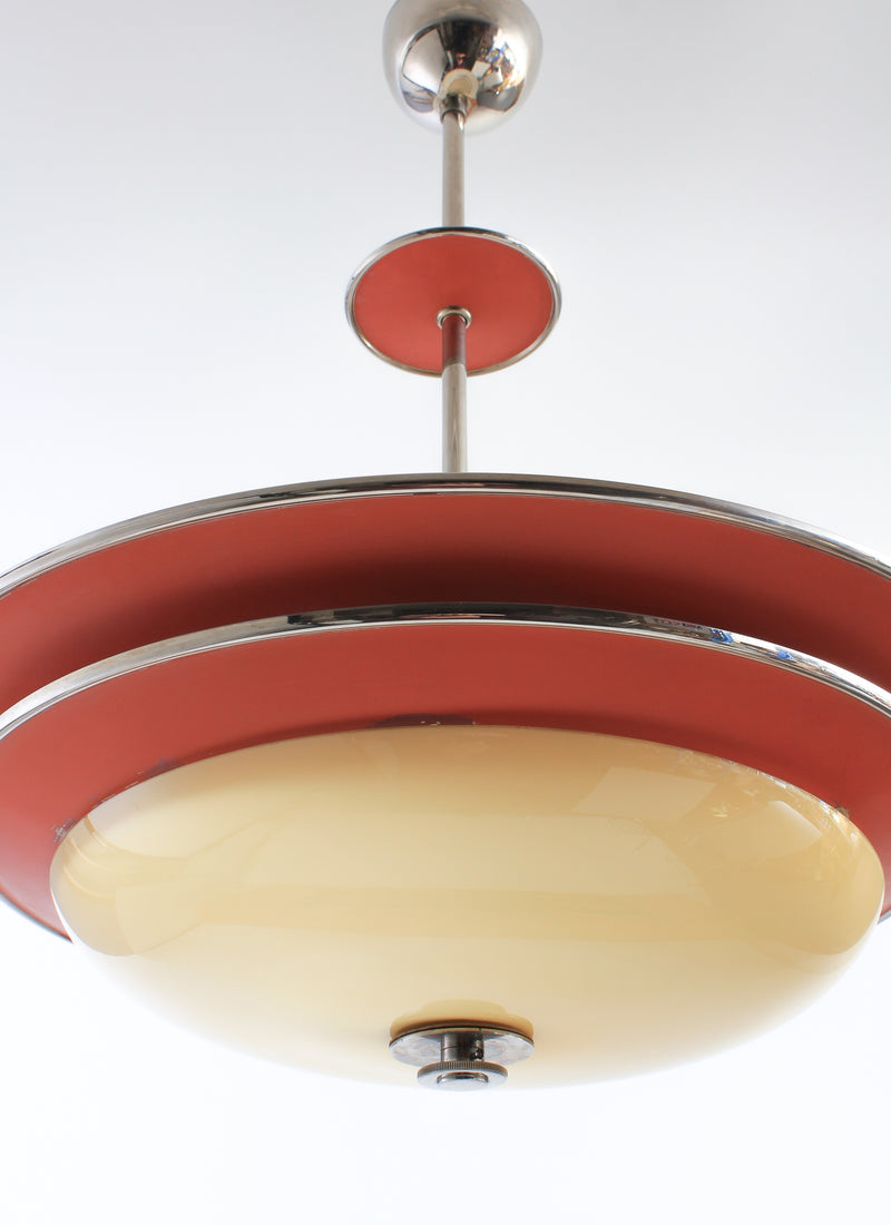 Ceiling lamp from NK Erik Tidstrand 1930s A237