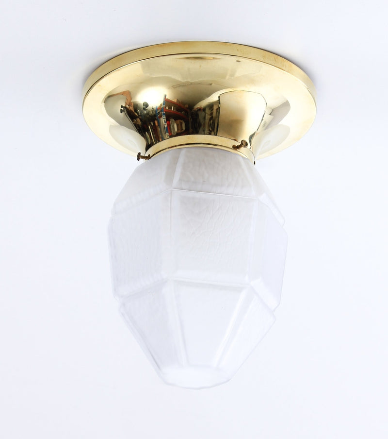 Low ceiling lamp for old house 1910s cup P3