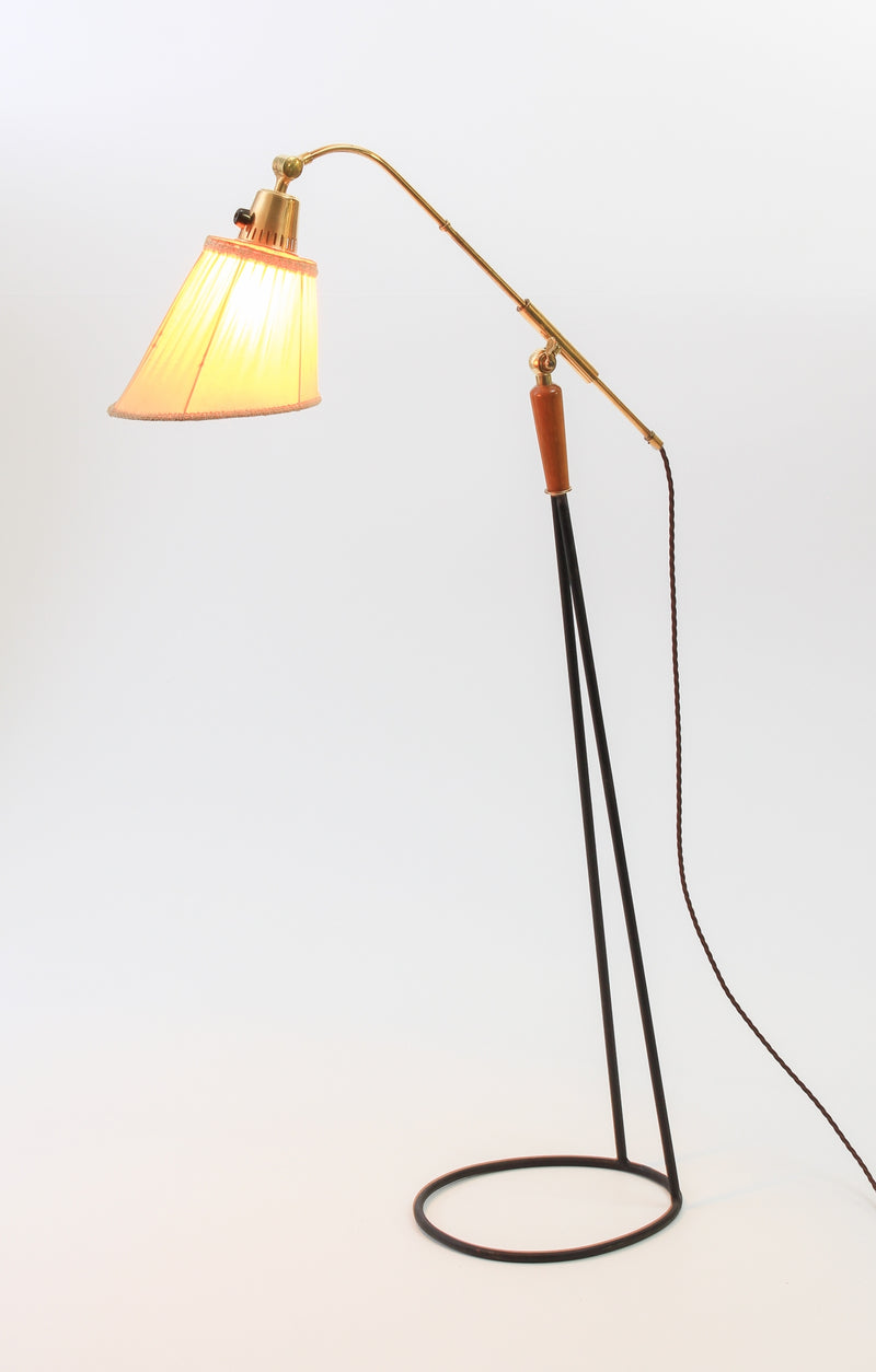 Floor lamp Swedish 1950s C57