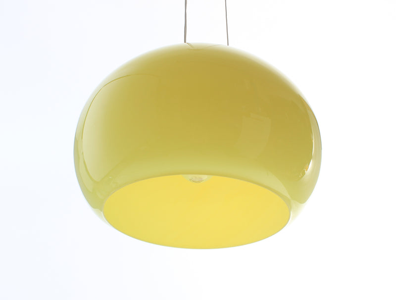 Luxus ceiling lamp in hand-blown glass 1960s A212